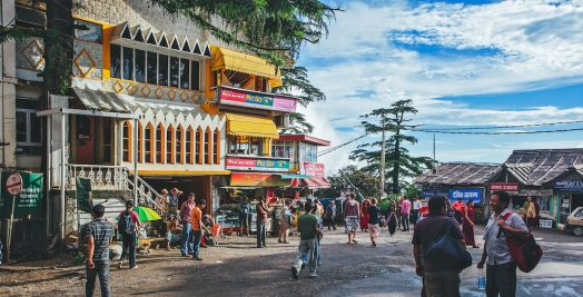 Streets of Mcleodganj - The little Lhasa in India