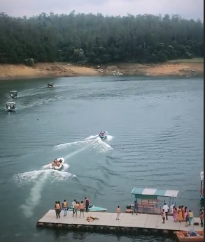 Ooty-Boating